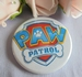 button paw patrol logo ca 58 mm